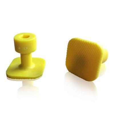Laka Tools Dent tabadapter geel 21x21mm