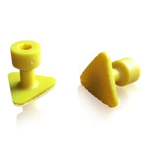 Laka Tools Dent tab adapter yellow 23x23x23mm 5 PCS