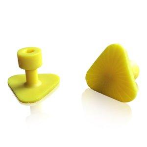 Laka Tools Dent tab adapter yellow 30x30x30mm 5 PCS