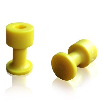 Laka Tools Dent tabadapter geel 12mm 5 stuks