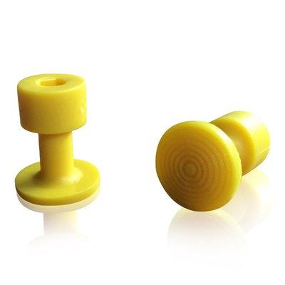 Laka Tools Dent tabadapter geel 16mm 5 stuks