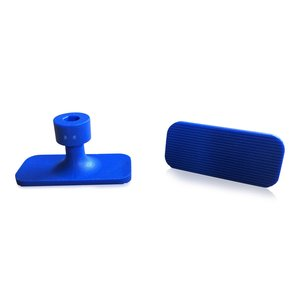 Laka Tools Dent tabadapter blauw 19x40mm 5 stuks