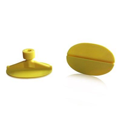 Laka Tools Dent tabadapter geel ovaal 50x30mm