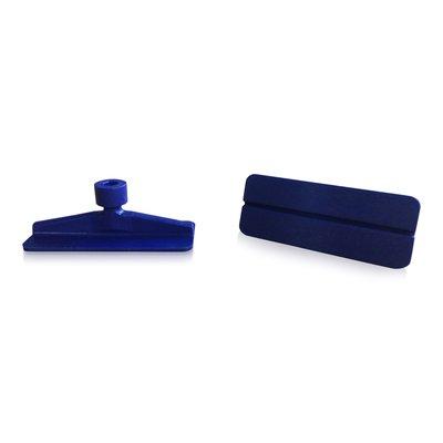 Laka Tools Dent tab adapter blue 65x26mm