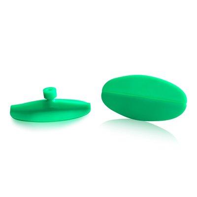Laka Tools Dent tab adapter green oval 80x45mm