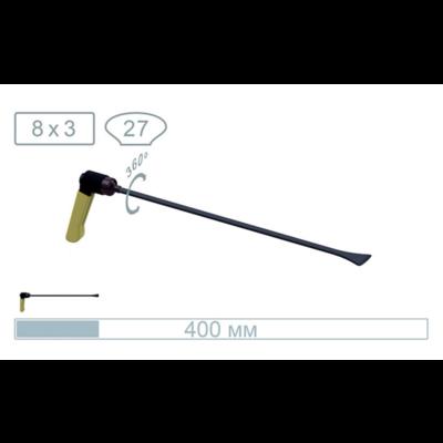 AV Tool 18013PR 40 cm whale tail, with a 27 mm wide tip, adj