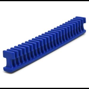 "Keco 12.5 mm Blue Flexible Smooth Crease Glue Tab - 6"""