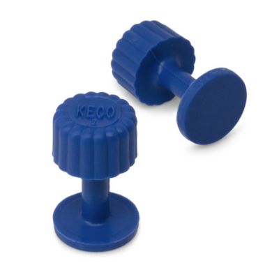 Keco Dead Center Blue Smooth Finishing Glue Tabs (5 PCS) 13 MM
