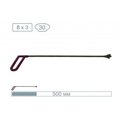 AV Tool 50 cm whale tail met 3 drukpunten, tip breedte 30 mm