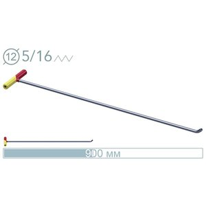 AV Tool 14006D 90cm ø12mm 45° screw-on tip rod