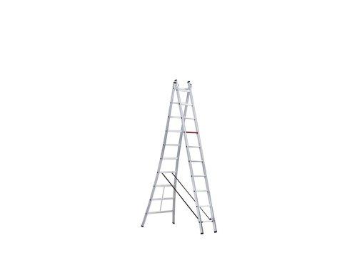 Altrex Rocky - aluminium kokerladder (blank) 2-delig reform 3,00 tot 4,95m