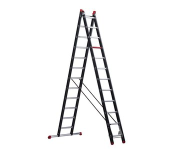 Altrex Mounter - aluminium ladder (gecoat) - 2-delig reform 6,05m