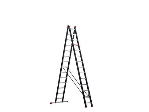 Altrex Mounter - aluminium ladder (gecoat) - 2-delig reform 6,9m