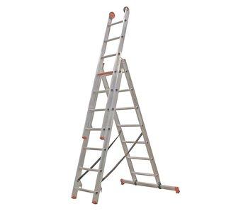 Altrex All Round - aluminium ladder - 3-delig reform 4,4m