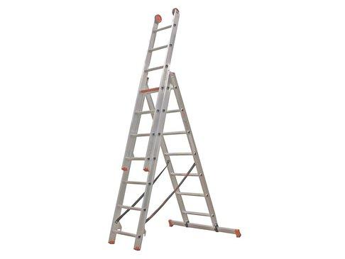 All Round - aluminium ladder - 3-delig reform