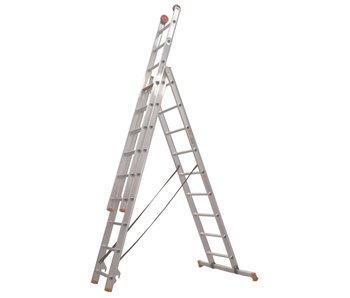 Altrex All Round - aluminium ladder - 3-delig reform 5,9m