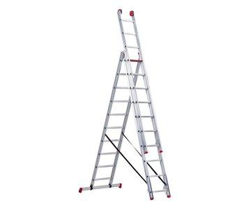Altrex All Round - aluminium ladder - 3-delig reform 6,65m