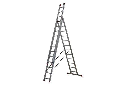 Altrex All Round - aluminium ladder - 3-delig reform 7,65m