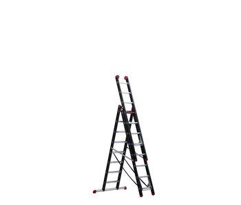 Altrex Mounter - aluminium ladder (gecoat) - 3-delig reform 5,3m