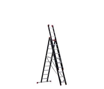 Altrex Mounter - aluminium ladder (gecoat) - 3-delig reform 6,65m