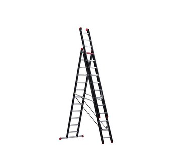 Altrex Mounter - aluminium ladder (gecoat) - 3-delig reform 8,0m