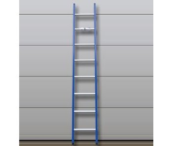 DAS Atlas 'Blue' ladder gebogen - gecoat 3,63m