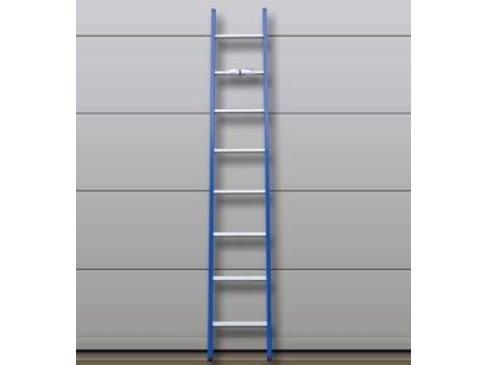 DAS Atlas 'Blue' ladder gebogen - gecoat 4,63m