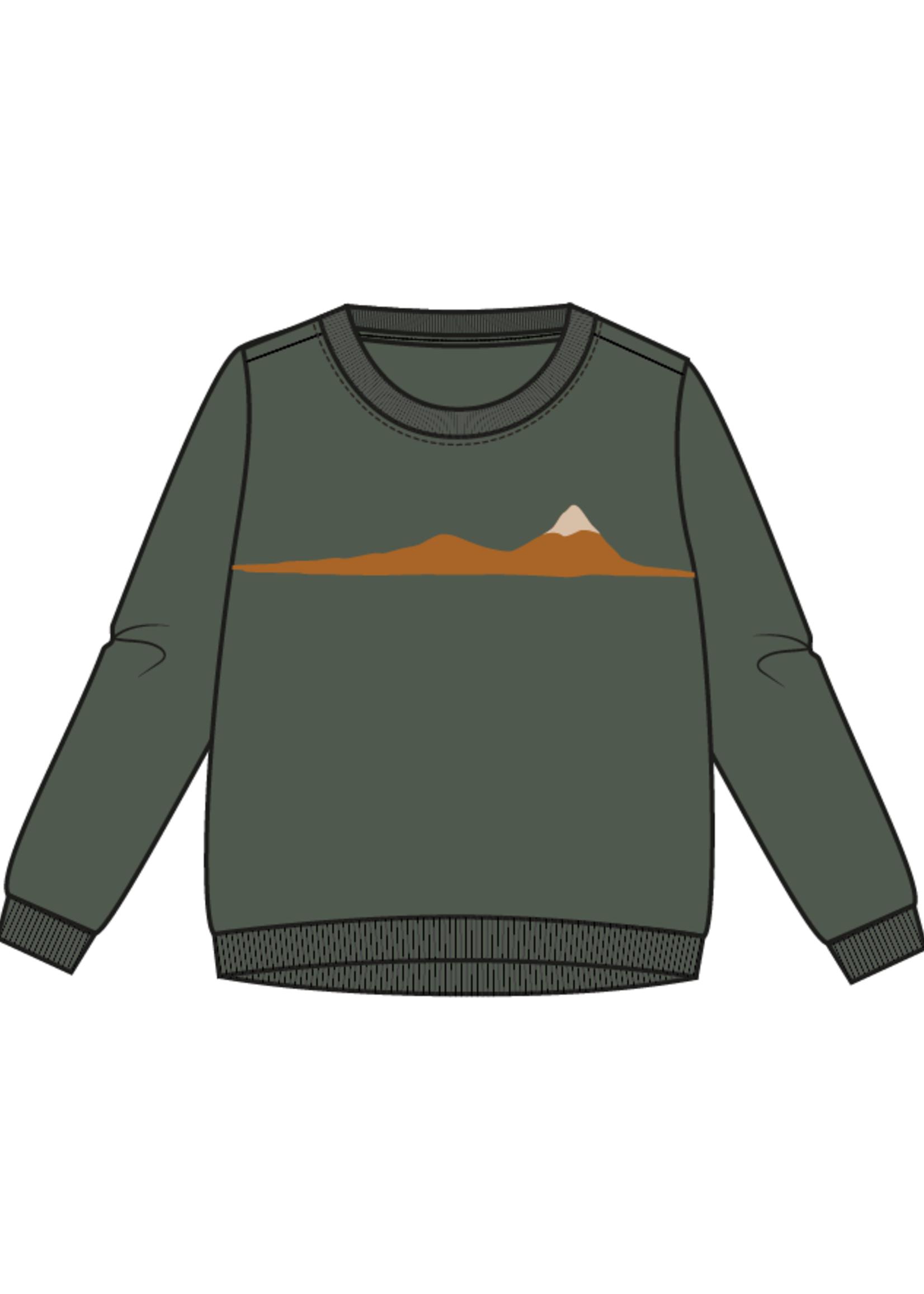 Blossom Kids Sweater - Snowy Mountain
