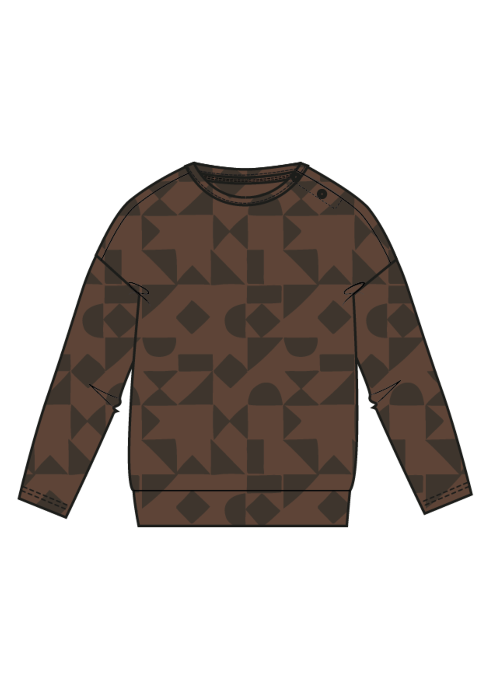 Blossom Kids Sweater - Geometric