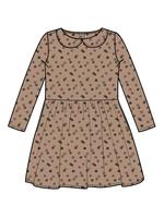 Blossom Kids Peterpan long sleeves dress  - Grand Confetti