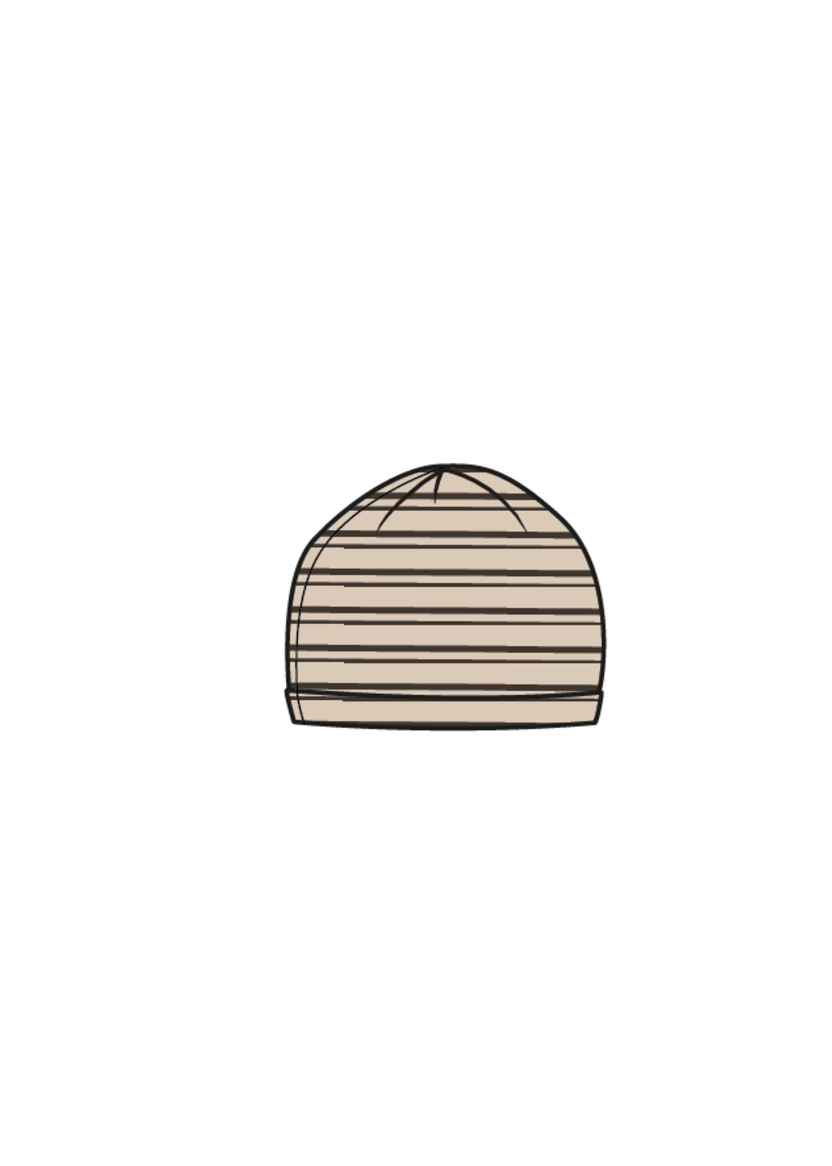 Blossom Kids Baby hat - Stripes - Cinnamom