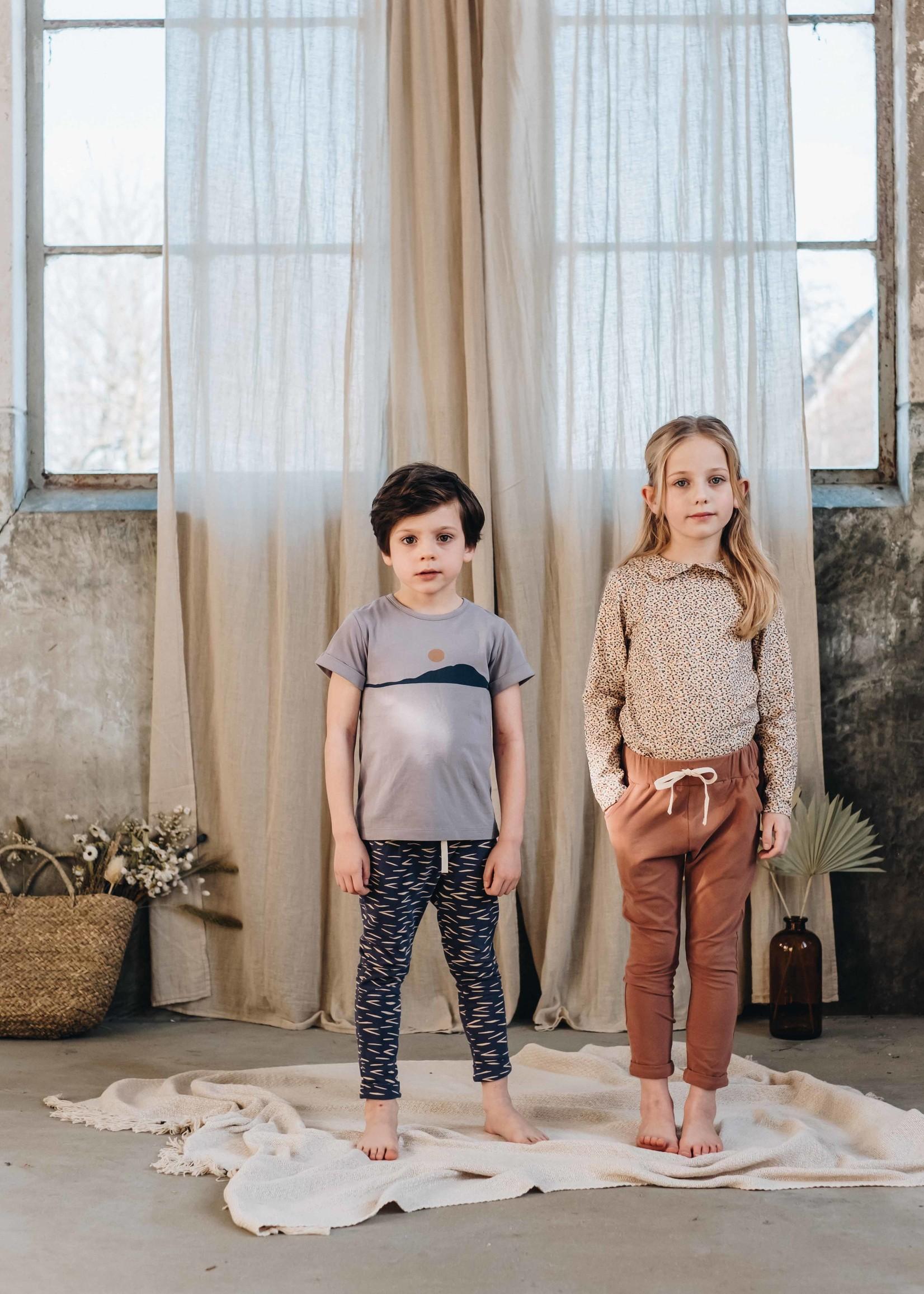 Blossom Kids Strap cord joggers - Zig Zag