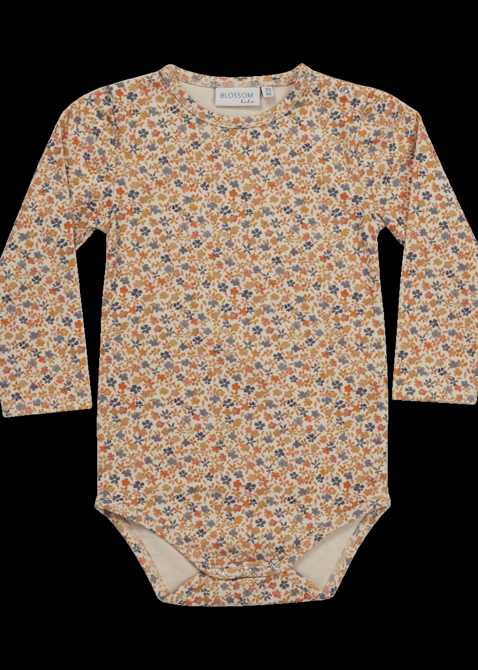 Blossom Kids Body long sleeve - Aquarel Flower