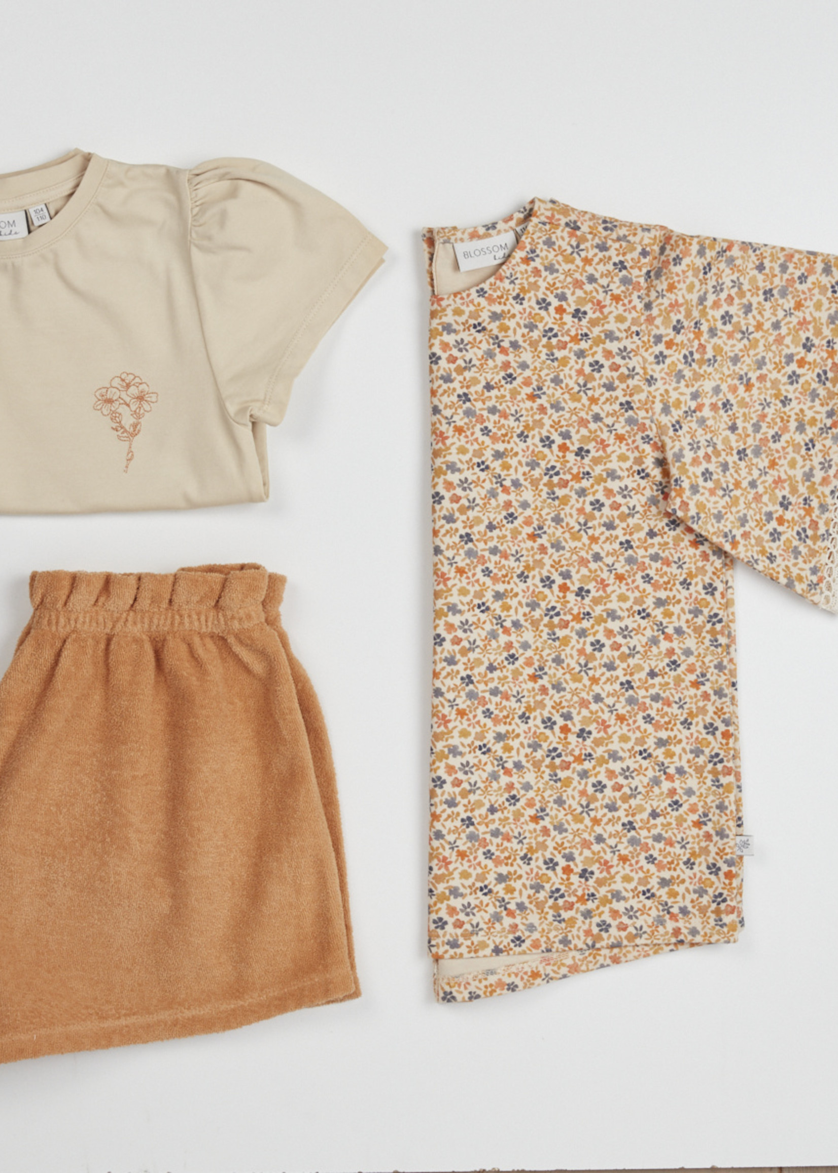 Blossom Kids Tunic short sleeves - Aquarel Flower