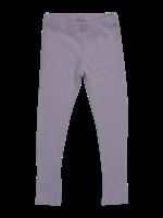 Blossom Kids Legging - soft rib - Lavender Gray