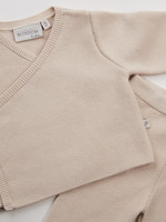 Blossom Kids PRE-ORDER - Knitted pants Baby - Milk