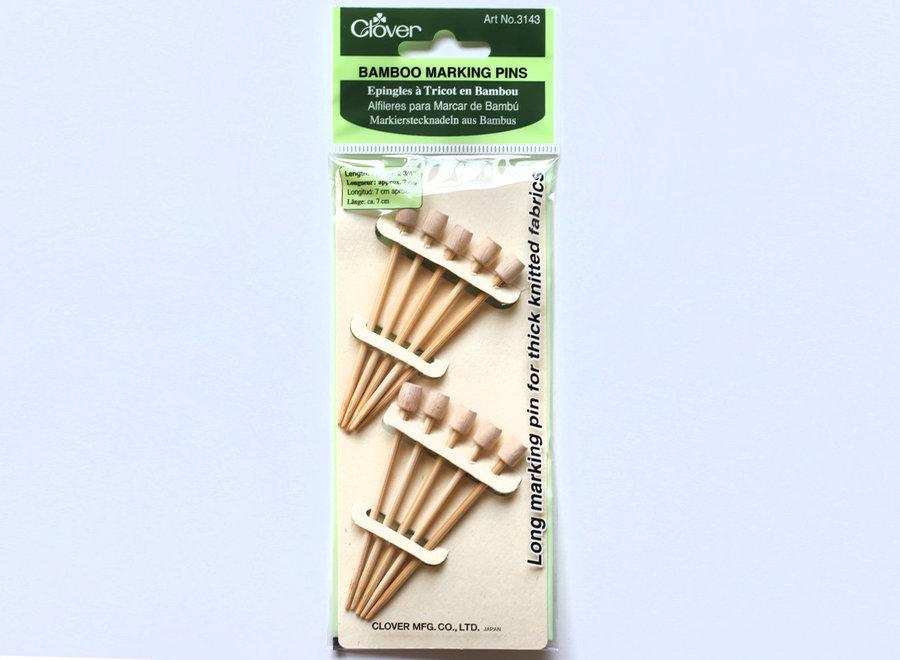 Bamboo pins