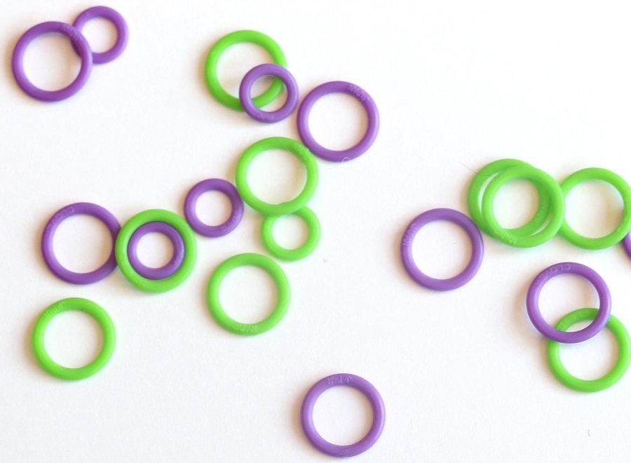 anneaux marqueurs plastique