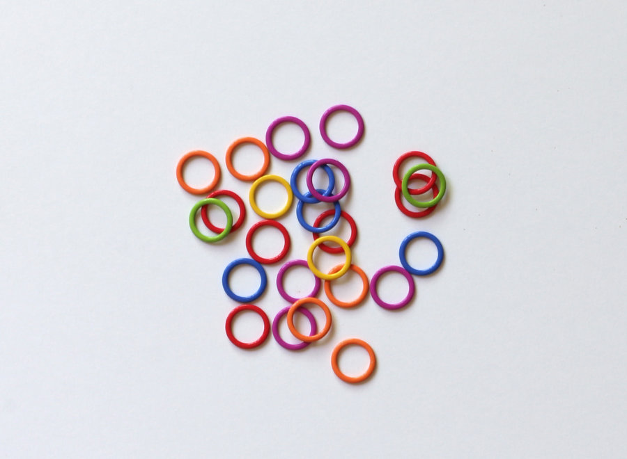 Cocoknits anneaux marqueurs métal medium
