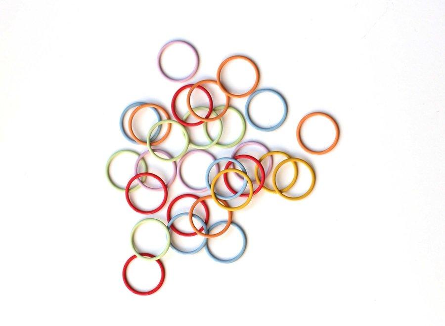Cocoknits, anneaux marqueurs métal jumbo