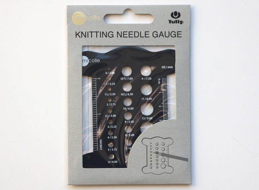 Tulip, needle gauge