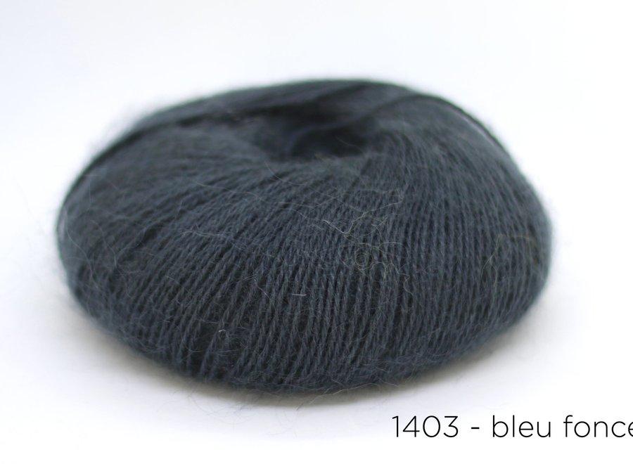Onion, mohair + nettles + wool