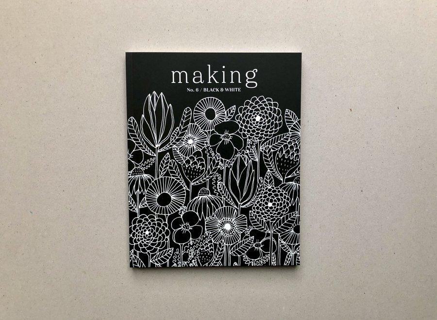 making n° 6 - black & white