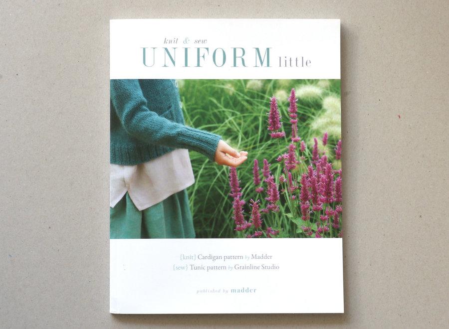 Uniform little - knit & sew