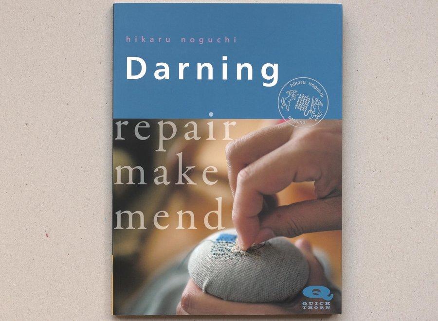 Darning, repair, make, mend
