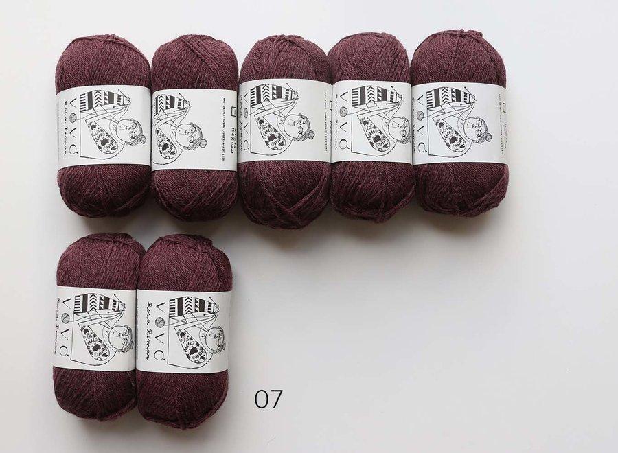 Sotabosc Shawl yarn kit