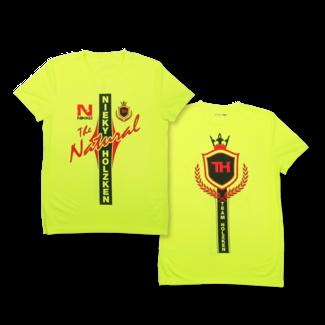 Natural Nutrition shirt - Yellow