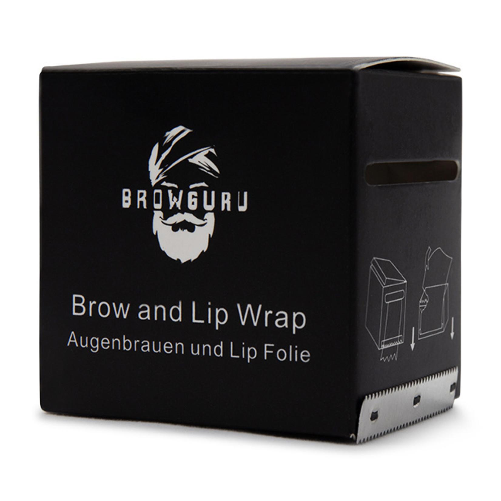 Browguru® Wenkbrauwen en Lip Folie