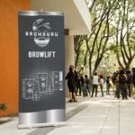 Browguru® Browguru Roll up Banner