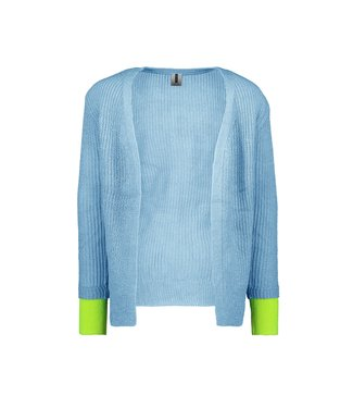 B.Nosy B.Nosy Girls Knitted Cardigan alaska blue